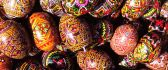 Traditional Easter eggs - hand painted