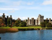 Wonderful view of Ashford Castle - HD wallpaper