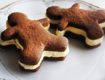 Gingerbread biscuits - delicious cookies
