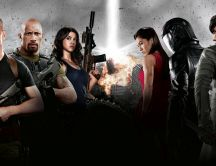 Famous actors of G.I. Joe: Retaliation movie HD wallpaper