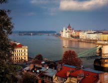 The beautiful view from Budapest - HD wallpaper
