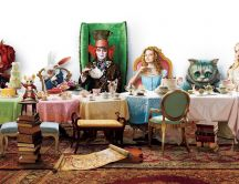Funny characters from Alice in Wonderland