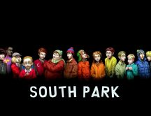 Funny wallpaper - characters from South park