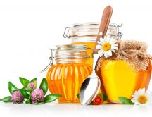 Magical power of honey - HD wallpaper
