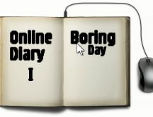 Funny diary - the first boring day