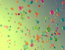 Happy birthday - millions of free balloons