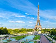 Beautiful symbol of France - The Eiffel Tower