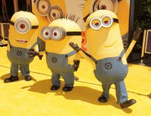 The original minions from movie Despicable me