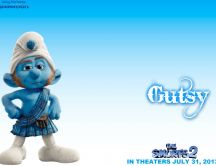 Funny Scottish Smurf - beautiful movie in 2013