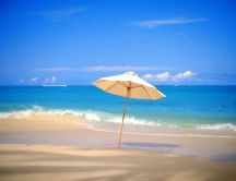 Summer holiday at the beach - HD wallpaper