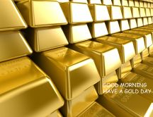 Think positive - have a beautiful gold day