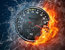 Car mileage - the limit between fire and water