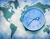 The time zone of the world - different hour