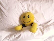 Yellow toy is going to sleep - good night
