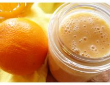 Delicious orange jam - summer breakfast