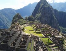 Machu-Picchu monument - wonderful HD wallpaper