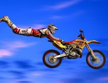 Extreme sports - motorcycle jumps