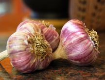 Natural garlic for magic food - HD wallpaper