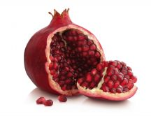 Delicious pomegranate fruit full with vitamins