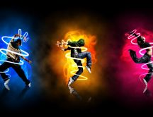 Dance is the color of life - HD wallpaper