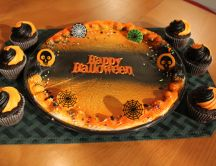Halloween pie - delicious pumpkins cake