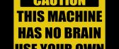 Message for you - attention at this machine