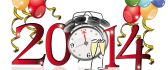 Twelve o'clock - Happy new year 2014