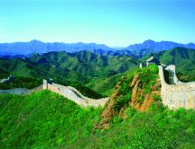 Beautiful nature landscape - Great Wall of China