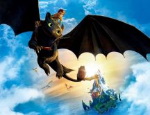 Funny animation - How to train your dragon 2