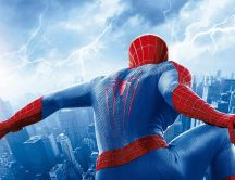 Beautiful scene from Spiderman movie 2 - HD wallpaper