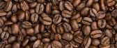 Roasted coffee beans - delicious flavour in the morning