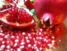 Fruit full of vitamins - Pomegranate