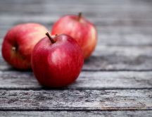 Delicious red apple - eat fresh and healthy