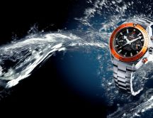 Omega waterproof watch - HD wallpaper