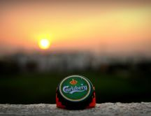 Carlsberg - fresh beer in the early morning