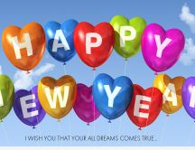 Happy New Year 2015 - all dreams come true