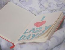 Journal of Love - I love lazy days - HD Valentines Day