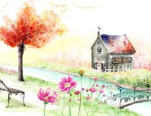 Magic moments - beautiful home painting