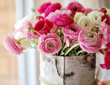 Beautiful bouquet for a wonderful bride - pink flowers