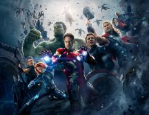 Tony Stark and the Avengers Movie Wallpaper