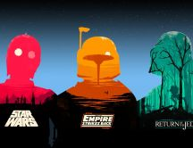 Original Star Wars movie trilogy HD Wallpaper