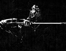Dishonored stealth action-adventure black wallpaper