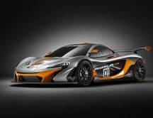 Gray and orage McLaren P1 GTR - Sport car