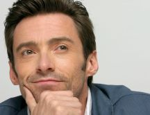 Actors Hugh Jackman is very thoughtful