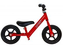 Red pushbike - Trax balance bike