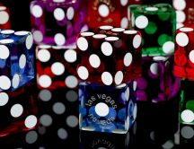 Las Vegas Dice - Colorful 3D and HD dice