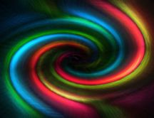 The colorful swirl - HD abstract wallpaper
