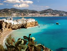 Ibiza island - beautiful summer holiday