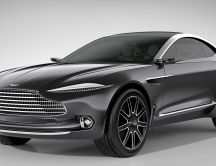 Black Aston Martin DBX Concept - Beautiful car