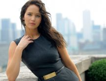Beautiful american actress,  Jennifer Lawrence